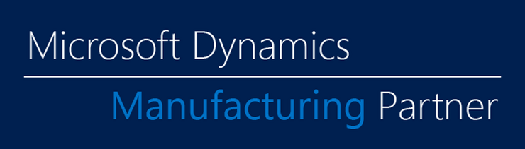 Logo COSMO CONSULT ist Microsoft Dynamics Manufacturing Partner