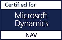Logo: Certified for Microsoft Dynamics NAV